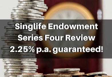 Singlife Endowment Series Four   Short Term (3 Year) Endowment Review