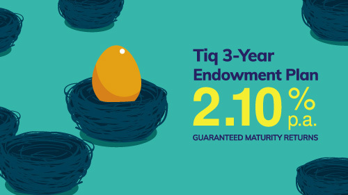 Tiq 3 year endowment plan