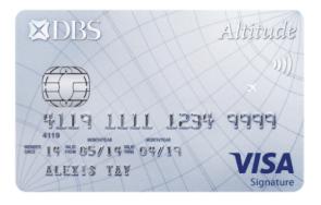 DBS Altitude Visa Card