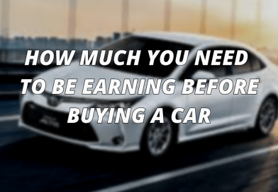 How Much You Need To Be Earning Before Buying A Car!