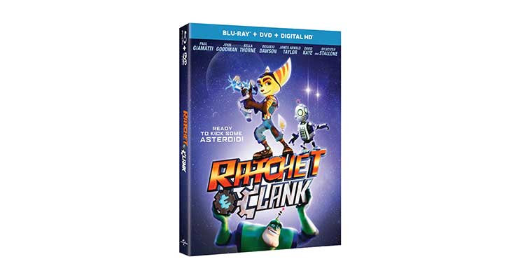 Win a Copy of Ratchet & Clank on Blu-ray Combo Pack!