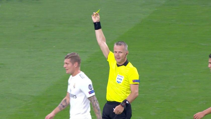 Kuipers bij Real Madrid-Roma