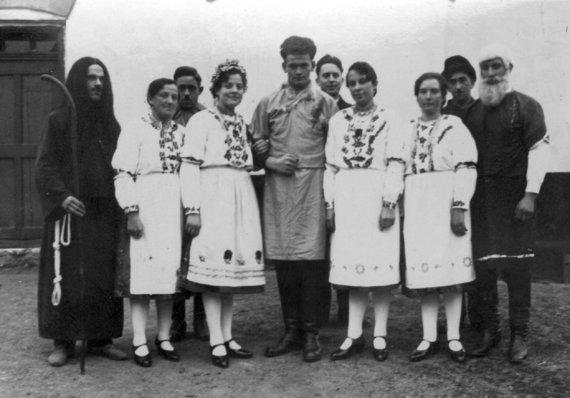 Geschichte_Theatergruppe-Klenau-Junkenhofen_Flucht nachÄgypten_1932