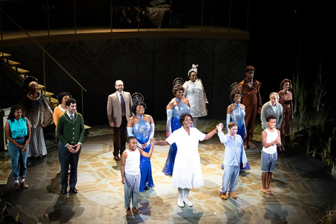 Sharon D. Clarke and the cast of Caroline, or Change