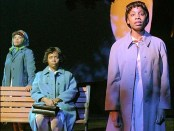 Anika Noni Rose, Tonya Pinkins (center), and Chandra Wilson in Caroline, or Change