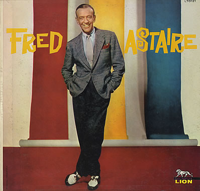 Fred Astaire in a rare color photo.
