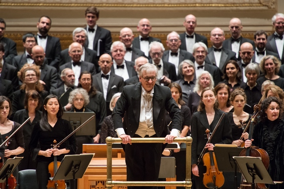 The Cecilia Chorus of New York with Maestro Mark Shapiro