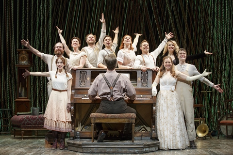 "The Cast of ""Into the Woods"" (Photo credit: Joan Marcus)"