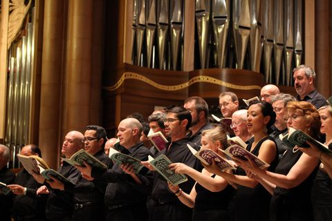 Voices of Ascenion in concert