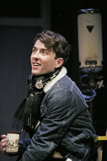 "Matthew Beard in a scene from David Hare's ""Skylight"" (Photo credit: John Haynes)"