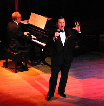 "Lee Roy Reams as he appeared at ""Broadway by the Year: The Musicals of 1941-1965"" (Photo credit: Michael Portantiere)"