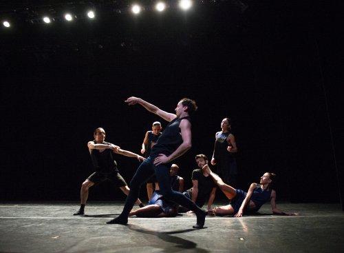 """Ballet Hispanico in a scene from """"El Beso"""" (Photo credit: Paula Lobo)"""