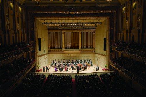 "Handel's ""Messiah"" at Boston Symphony Hall (Photo credit: John Doyle)"