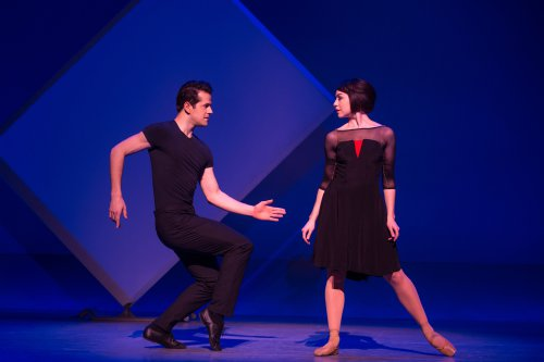 "Robert Fairchild as Jerry and Leanne Cope as Lise in a scene from the new Broadway musical ""An American in Paris"" (Photo credit: Matthew Murphy)"