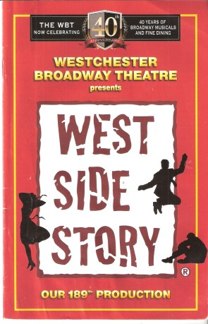 "West Side Story"" Playbill"