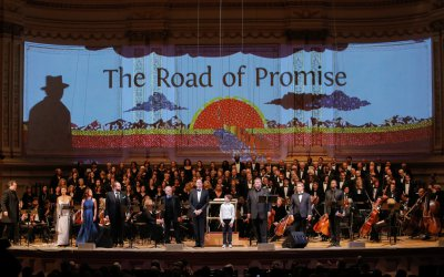 The finale of The Road of Promise as performed by Collegiate Chorale at Carnegie Hall (May 6 and 7, 2015) (Photo credit: Erin Baiano)