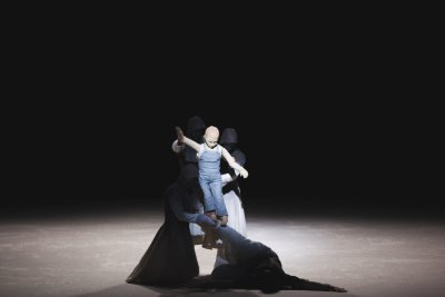 "A scene from Pontus Lidberg Dance's ""Snow"" (Photo credit: Petrus Sjövik)"