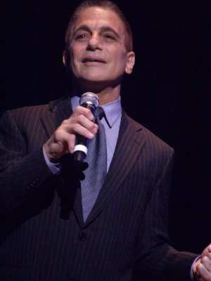 "Tony Danza as he recreated ""Out of the Sun"" from ""Honeymoon in Vegas"" (Photo credit: Maryann Lopinto)"
