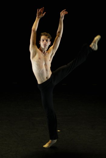 Florent Cador in The Victory Dance Project (Photo credit: Jordan Hirado)