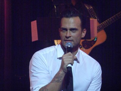 Cheyenne Jackson at The Town Hall (Photo credit: Mayann Lopinto)