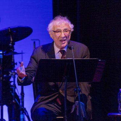 """Lyricist Sheldon Harnick at the 92Y's Lyrics & Lyricists Series: """"To Life! Celebrating 50 Years of 'Fiddler on the Roof'"""" (Photo credit: Richard Termine)"""