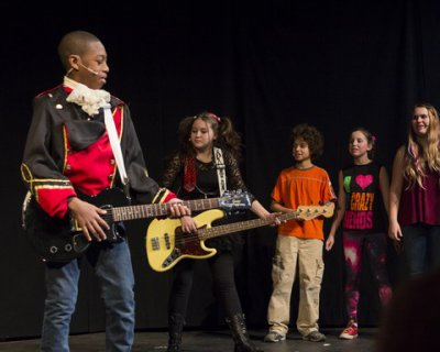 "The Cast of ""Out of My Comfort Zone"" (Photo credit: Courtesy of Children's Acting Company)"