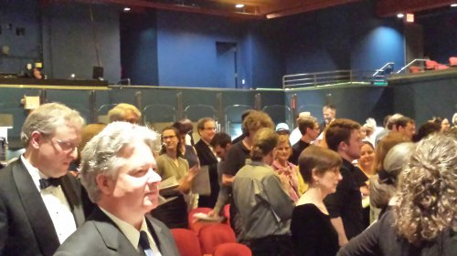 Intermission at Symphony Space audience at ChoralFest USA 2015