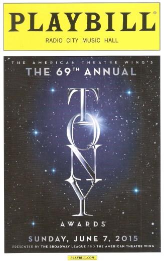 The Tony Awards program