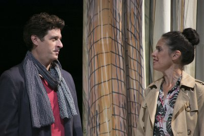 """Gary Wilmes and Tory Vazquez in a scene from """"Isolde"""" (Photo credit: Gerry Goodstein)"""