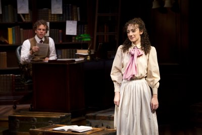 "Paul Alexander Nolan and Megan McGinnis in a scene from ""Daddy Long Legs"" (Photo credit: Jeremy Daniel)"