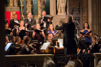 Music director Thomas Crawford and the American Classical Orchestra and Chorus (Photo credit: Andrei Matorin)
