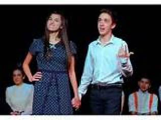 Emily Bordonaro and Michael Kasper in The Irving Berlin Ragtime Revue