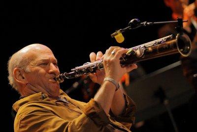 Saxophonist soloist Dave Liebman