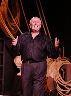 "Len Cariou as he appears in ""Broadway and the Bard"" (Photo credit: Carol Rosegg)"