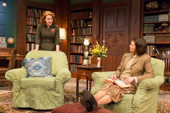 "Emily Walton and Mary Bacon in a scene from ""Women Without Men"" (Photo credit: Richard Termine)"