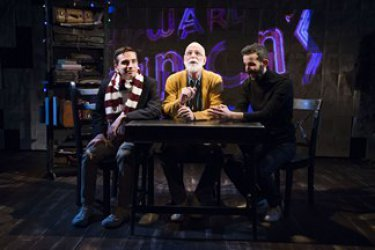 "Phil Gillen, Andrew Dawson and Aidan Sank in a scene from ""Gorey: The Secret Lives of Edward Gorey"" (Photo credit: Jenny Anderson)"