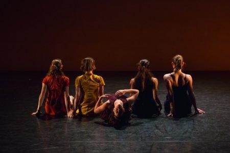 """A scene from Ariel Rivka Dance in """"Hallelujah Eva"""" (Photo credit: David Gonsier)"""