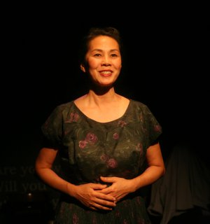 "Karen Tsen Lee in a scene from ""No-No Boy"" (Photo credit: John Quincy Lee)"