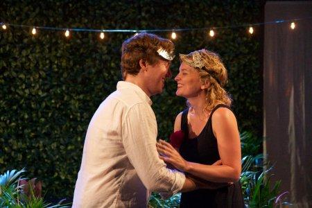 Cary Donaldson and Rachel Mewbron as Romeo and Juliet (Photo credit: Matt Harrington)