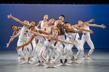 """Ballet Tech Kid Dance in a scene from """"A Yankee Doodle"""" (Photo credit: Christopher Duggan)"""