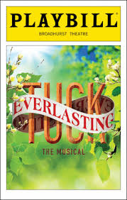 Tuck Everlasting Playbill