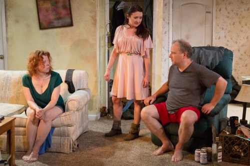 "Bethany Geraghty, Vanessa Vache and Sidney Williams in a scene from ""Strange Country"" (Photo credit: Hunter Canning)"