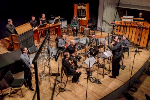 PRISM Quartet and PARTCH (Photo credit: Scott Friedlander)
