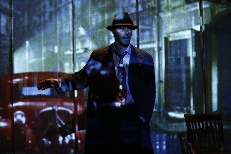 "Dana Watkins in a scene from Richard Alfredo's ""The Dark Clothes of Night"" (Photo credit: Carol Rosegg)"