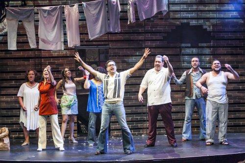 "The cast of ""I Like It Like That"" (Photo credit: Marisol Diaz)"
