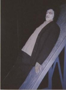 Me as Frankenstein's Monster.