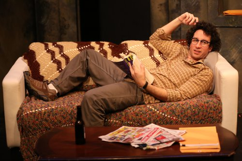 "Michael Hogan in a scene from Gabe McKinley's ""Homebody"" (Photo credit: Carol Rosegg)"