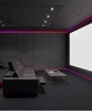 it cost to build a home theater