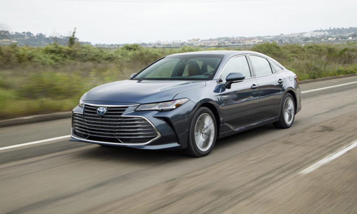 washington: '2020 toyota avalon hybrid well equipped with
