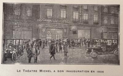 Le Théâtre Michel, par Jacques Crépineau